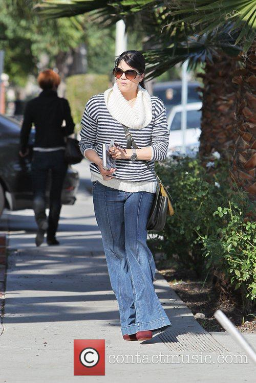 Leaves Le Pain Quotidien on Melrose after having...