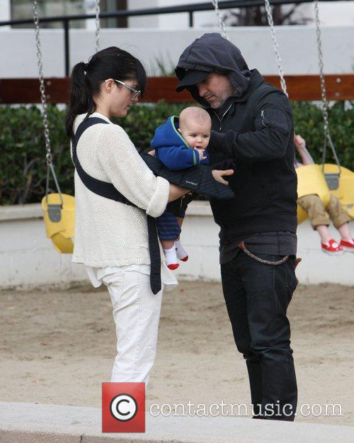 Selma Blair and Ahmet Zappa 5