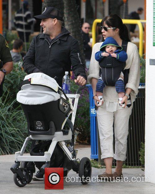 Selma Blair and Ahmet Zappa 2