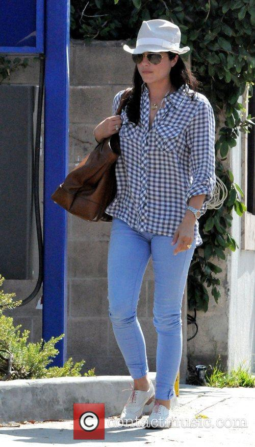 Selma Blair seen out and about in West...