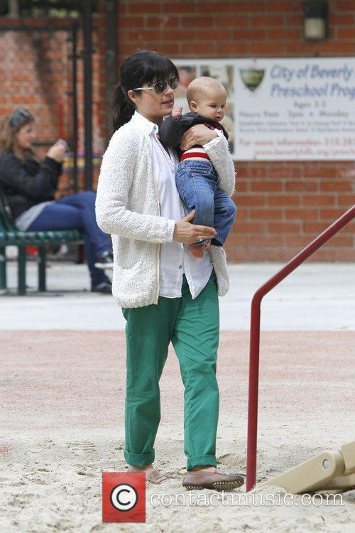 selma blair spends the day with her 5824899