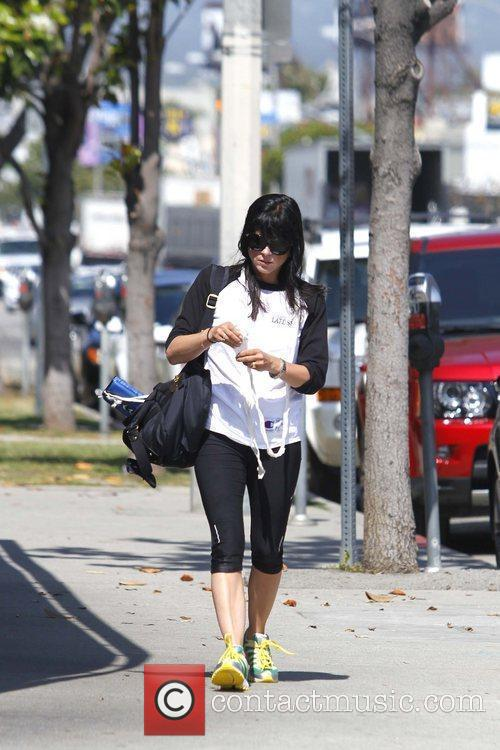 Selma Blair is seen heading to the gym...
