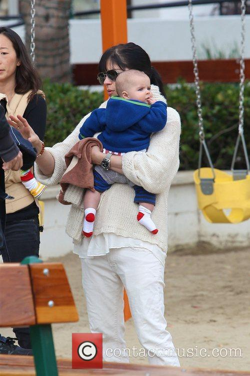 selma blair takes her son arthur to 3653379