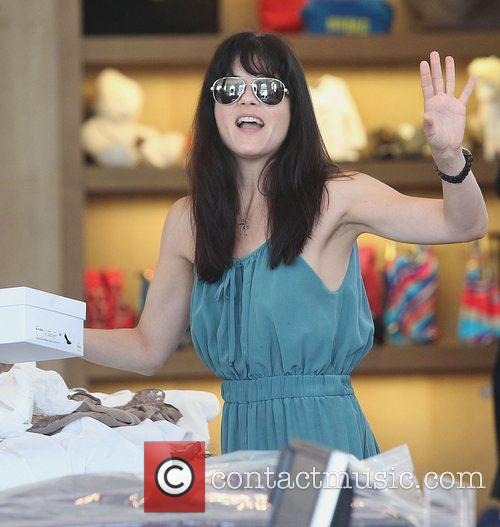 Selma Blair shopping at Marc Jacobs in Beverly...