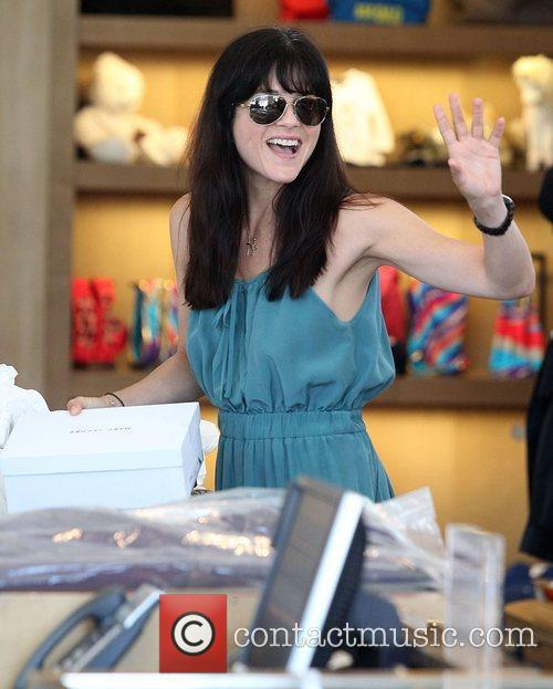 Shopping at Marc Jacobs in Beverly Hills