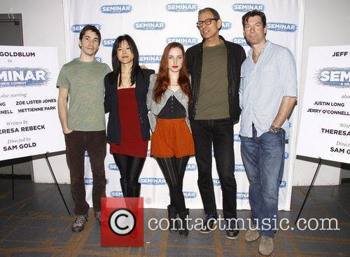 Justin Long, Hettienne Park, Jeff Goldblum and Zoe Lister Jones 2