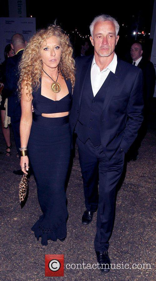 Kelly Hoppen and guest  The Serpentine Gallery...
