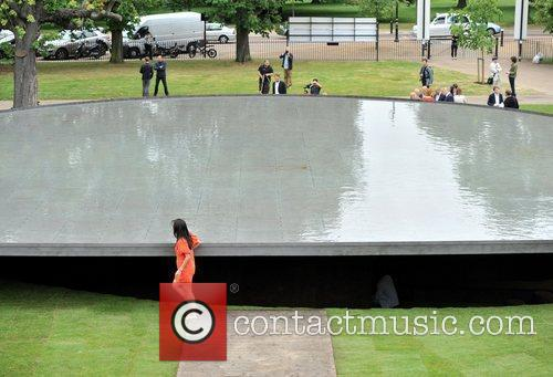 Serpentine Gallery Summer Pavilion - press preview. Annual...