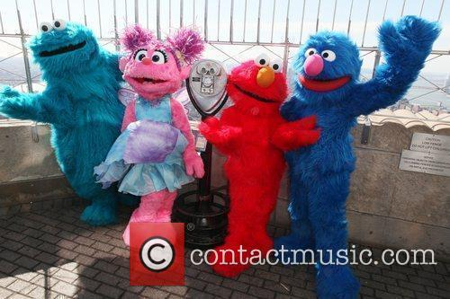 Cookie Monster, Elmo, Grover and Madison Square Garden 2
