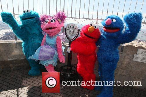Cookie Monster, Elmo, Grover, Sesame Street and Madison Square Garden