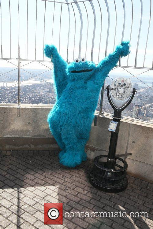 Cookie Monster and Madison Square Garden 3