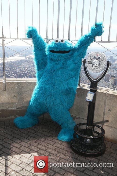 Cookie Monster and Madison Square Garden