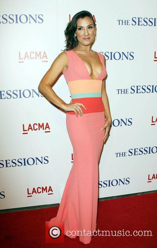 Annika Marks Los Angeles Premiere of 'The Sessions',...