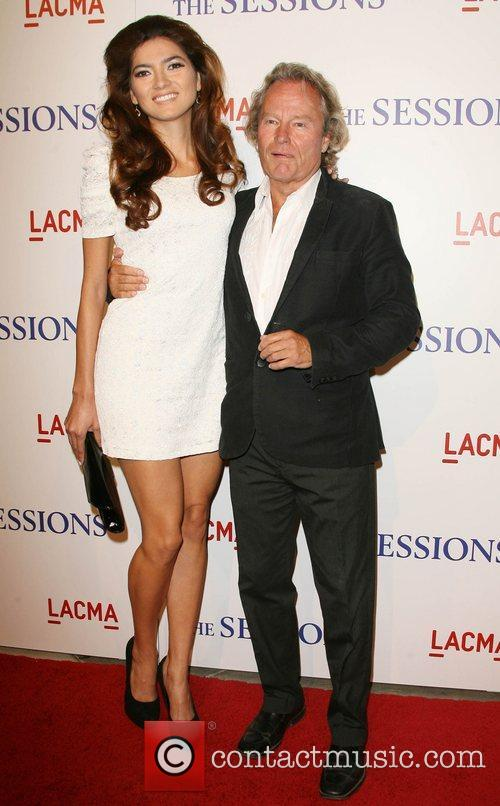Blanca Blanco and John Savage Los Angeles Premiere...