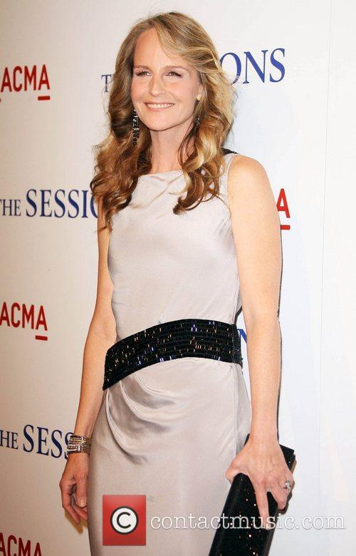 Helen Hunt Los Angeles Premiere of 'The Sessions',...