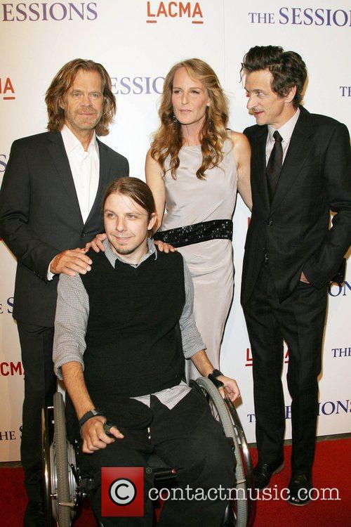 William H. Macy, Tobias Forrest, Helen Hunt and...
