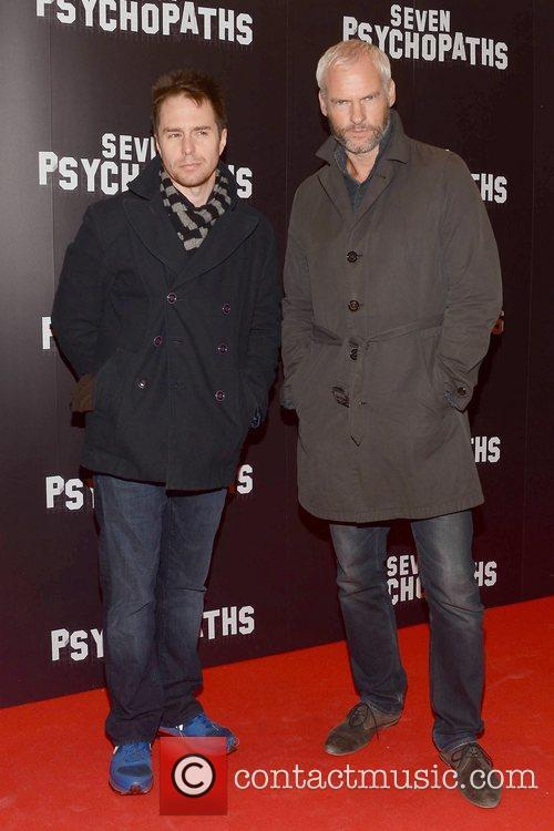 Sam Rockwell and Martin Mcdonagh 2