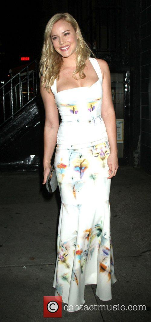 Abbie Cornish The Cinema Society with Hugo Boss...