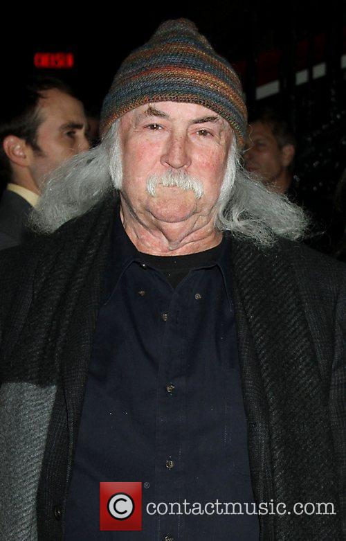 David Crosby The Cinema Society with Hugo Boss...