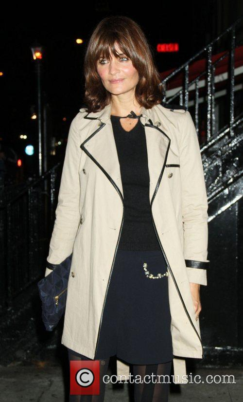 Helena Christensen The Cinema Society with Hugo Boss...