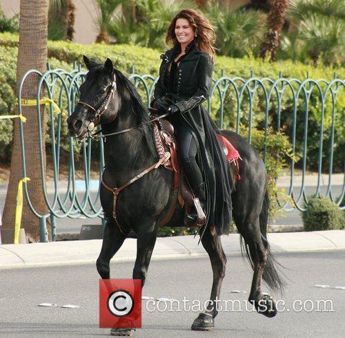 Country, Shania Twain, Las Vegas Strip, December, The Colosseum and Caesars Palace 8
