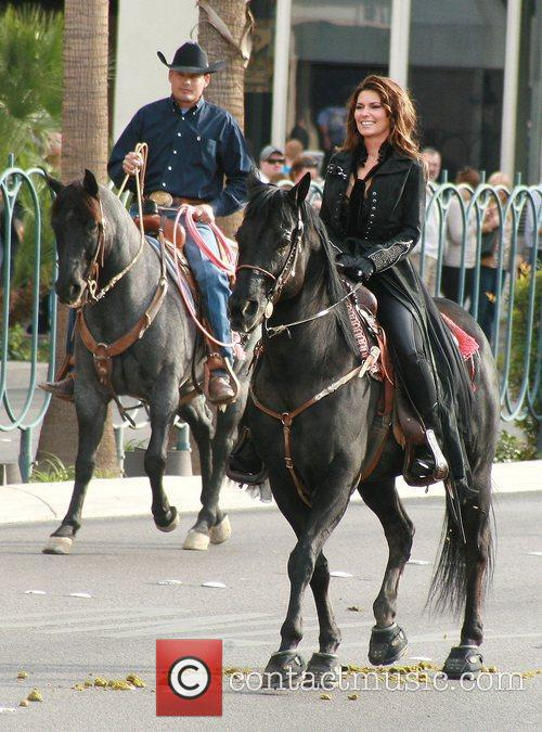 Country, Shania Twain, Las Vegas Strip, December, The Colosseum and Caesars Palace 7