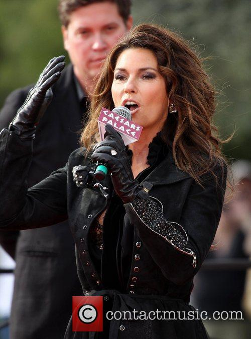 Country, Shania Twain, December, The Colosseum and Caesars Palace 25