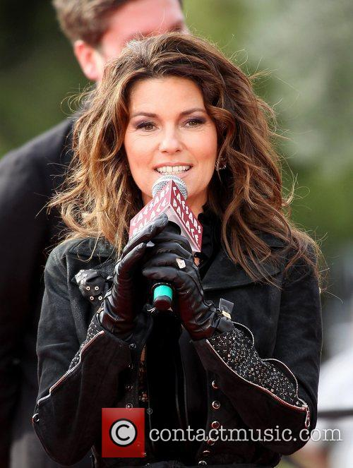 country music superstar shania twain promoting her 4175635