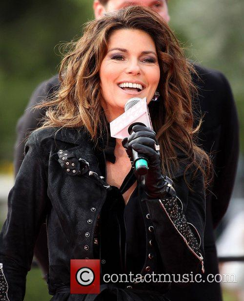 Country, Shania Twain, December, The Colosseum and Caesars Palace 1
