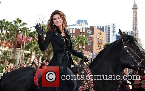 Country, Shania Twain, Las Vegas Strip, December, The Colosseum, Caesars Palace