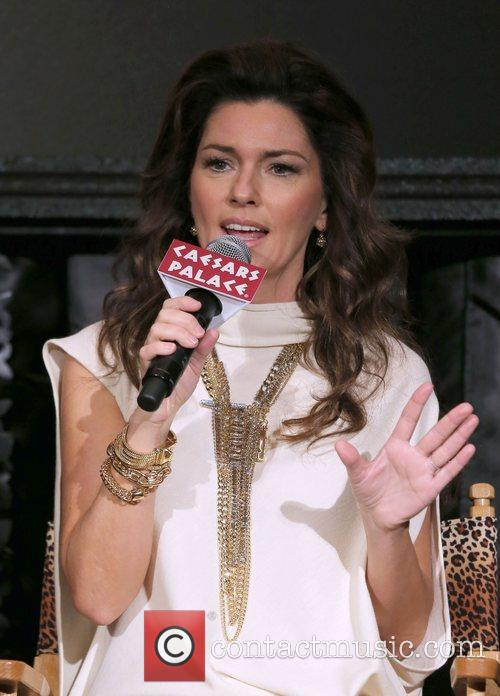shania twain attends a press conference for 4188730