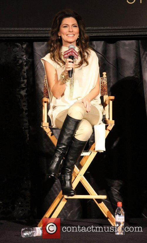 shania twain attends a press conference for 4188894