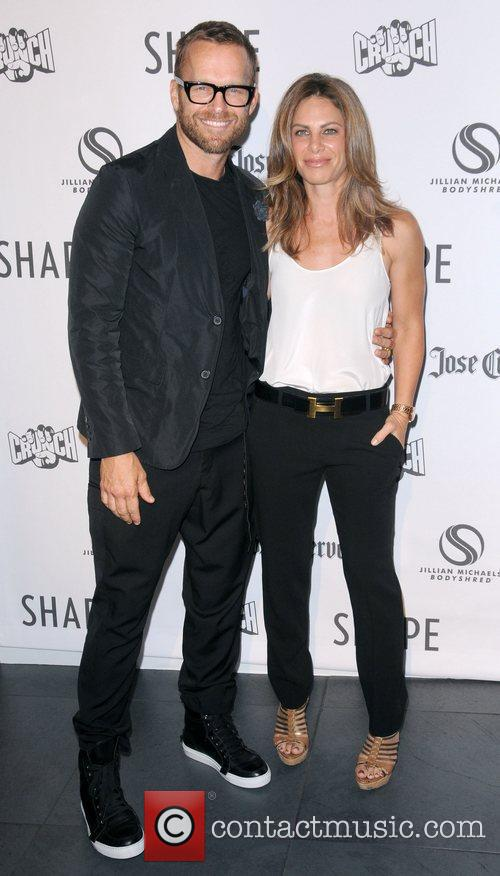 Bob Harper and Jillian Michaels Jillian Michaels celebrates...