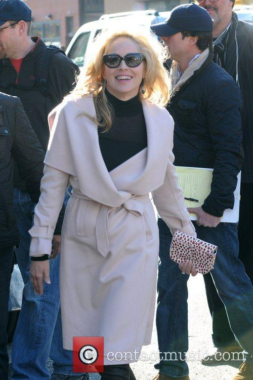 Sharon Stone, Fading Gigolo and Manhattan New York City 11