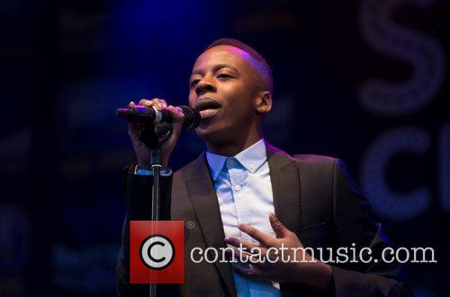 Performs at the Sheffield Christmas lights switch-on