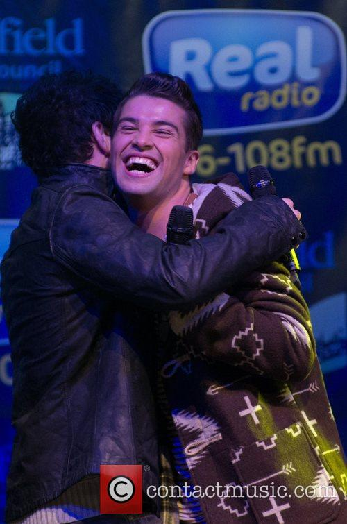matt cardle and joe mcelderry sheffield christmas 4179960