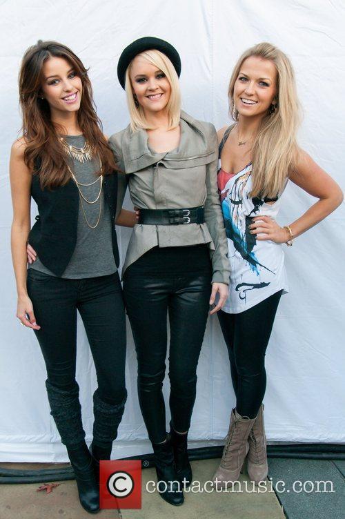 Jessica Martin, Aimee Kearsley and Roberta Howett of...