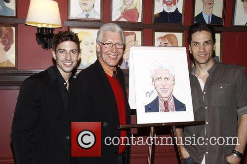 Nick Adams, Tony Sheldon and Will Swenson Sardi's...