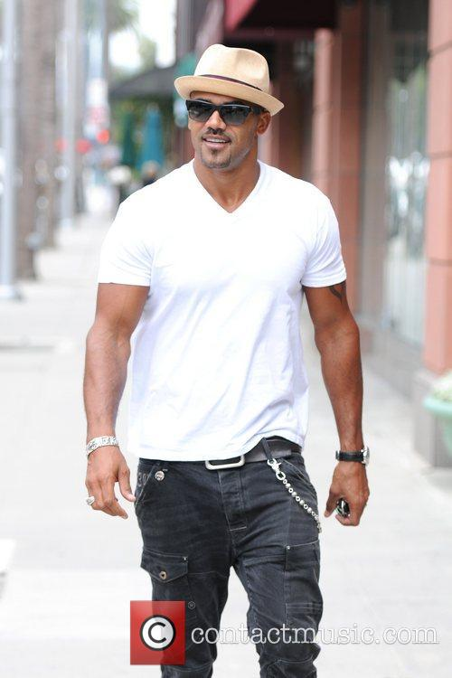shemar moore is seen out and about 5888509