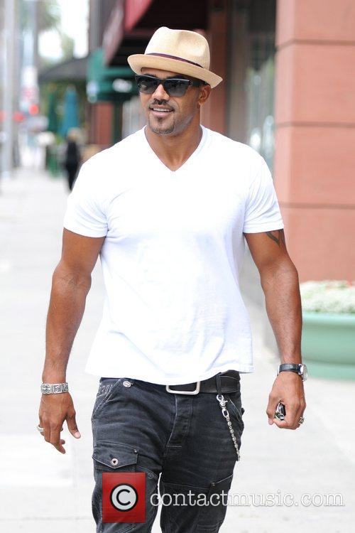 Shemar Moore is seen out and about in...