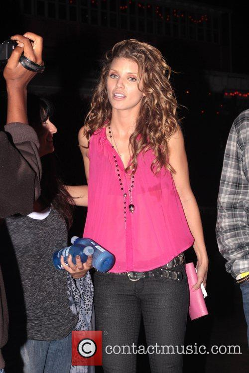 Annalynne McCord '90210' Cast Party at Pink Taco...