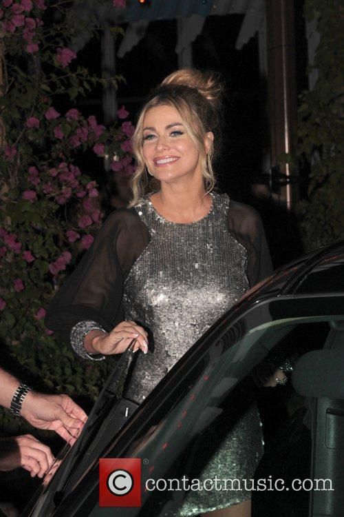 Carmen Electra '90210' Cast Party at Pink Taco...