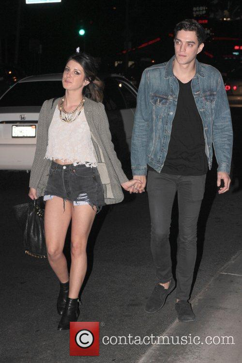 Shenae Grimes,   boyfriend '90210' Cast Party...