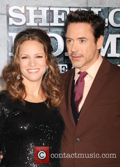 Susan Levin and Robert Downey Jr 2