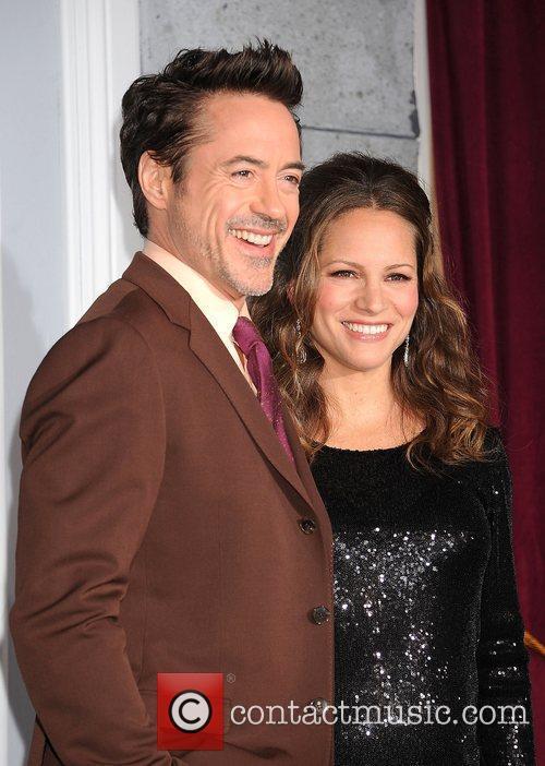 Susan Levin and Robert Downey Jr 4