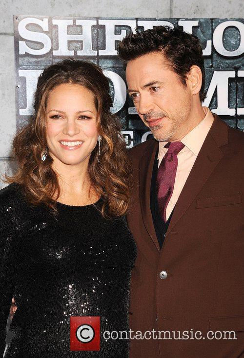 Susan Levin and Robert Downey Jr