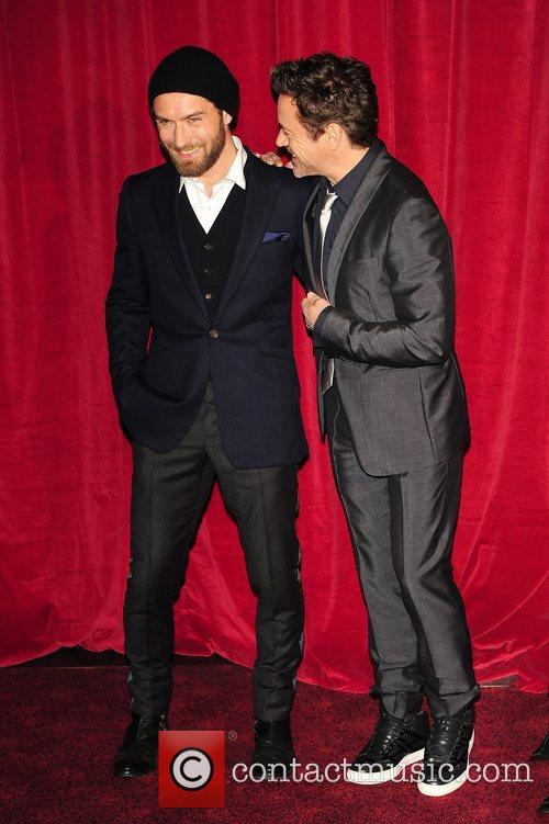 Robert Downey Jr, Jude Law and Empire Leicester Square 16