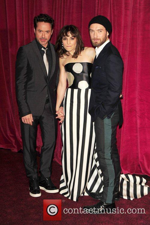 Robert Downey Jr, Jude Law, Noomi Rapace and Empire Leicester Square 10