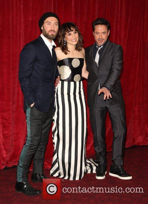Jude Law, Noomi Rapace and Robert Downey Jr 5