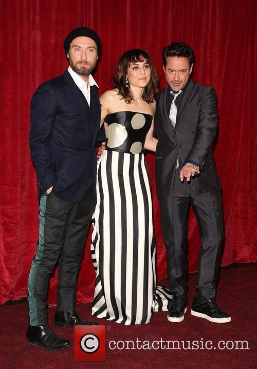 Jude Law, Noomi Rapace and Robert Downey Jr 1